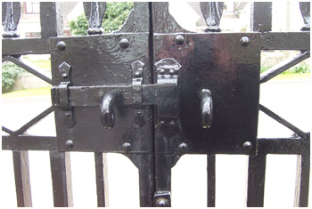 Gates and catches fully restored